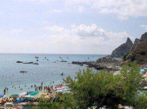 Capo Vaticano - spiaggia di Grotticelle