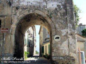 Vibo Valentia - arco di Marzano