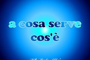 [cat] a cosa serve-cos'è