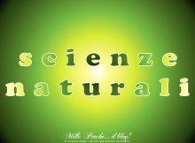 [cat] scienze naturali