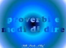 [cat] proverbi e modi di dire
